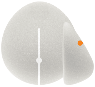 Teardrop Shaped Gel Implants