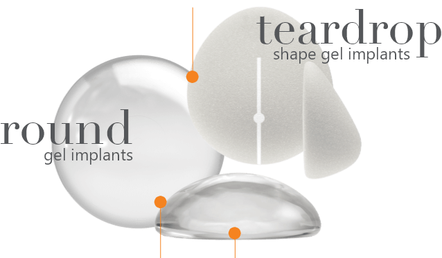 Round and Shaped Breast Implants