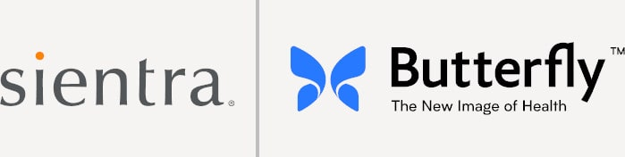 Sientra and Butterfly Logos